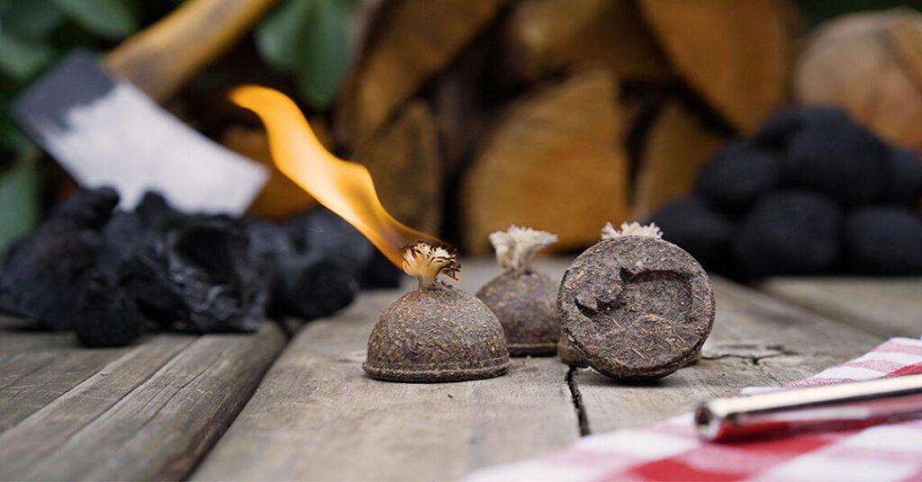 rhino balls eco-firelighter